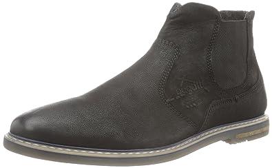 F9202PR5G, Chaussures Derby Homme - Noir - Noir (Schwarz 100), 41 EUBugatti