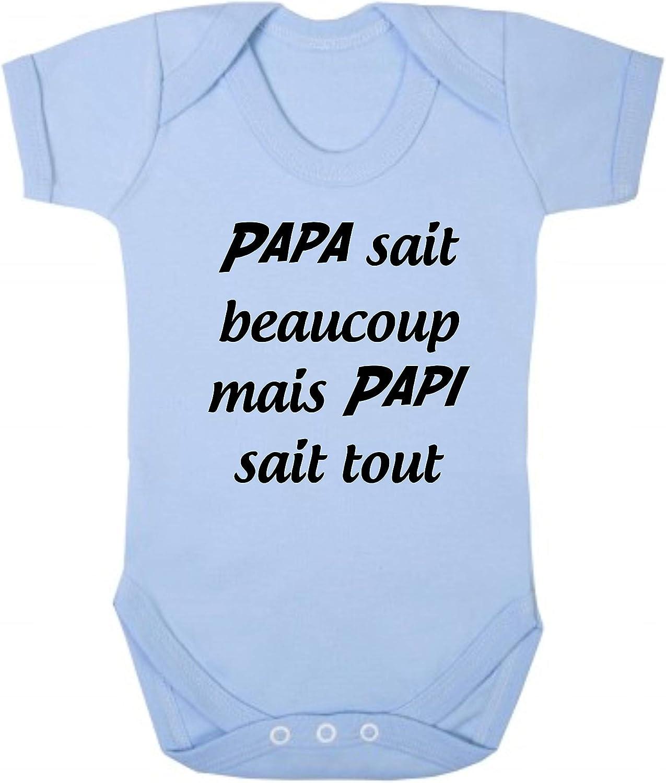 Click My Clobber B/éb/é Body Papa Sait Beaucoup mais Papi Sait Tout