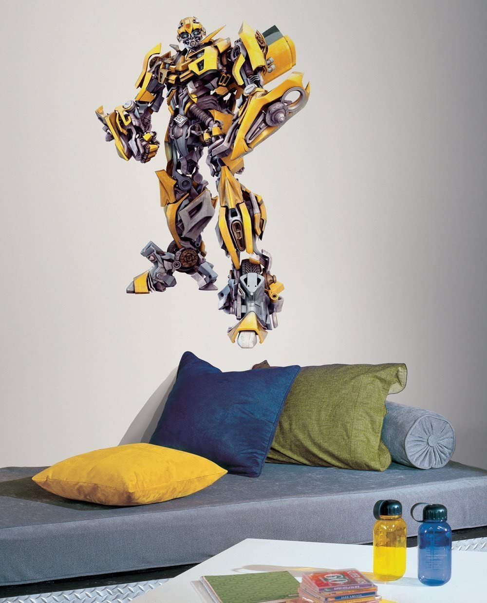Transformer Wall Decal - Bumblebee - Giant Wall Sticker Decor Party Decoration (Bumblebee Giant)