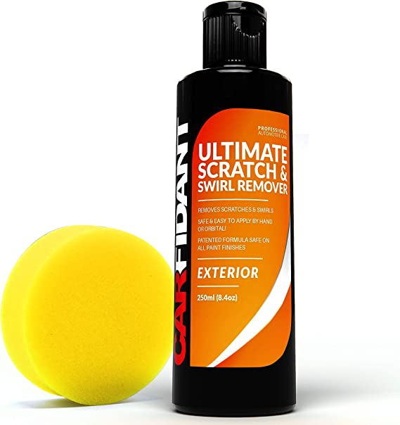 Carfidant Scratch and Swirl Remover - Ultimate Car Scratch Remover - Polish & Paint Restorer - Easily Repair Paint Scratches