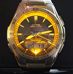 casio wave ceptor set time manually