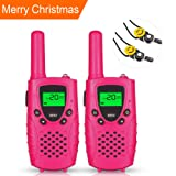 Amazon Price History for:E-wor Walkie Talkies For Kids ,22 Channels FRS/GMRS UHF Kids Walkie Talkies, 2 Way Radios 4 Miles Walkie Talkies Girls Kids Toys With Flashlight, 1 Pair-Pink