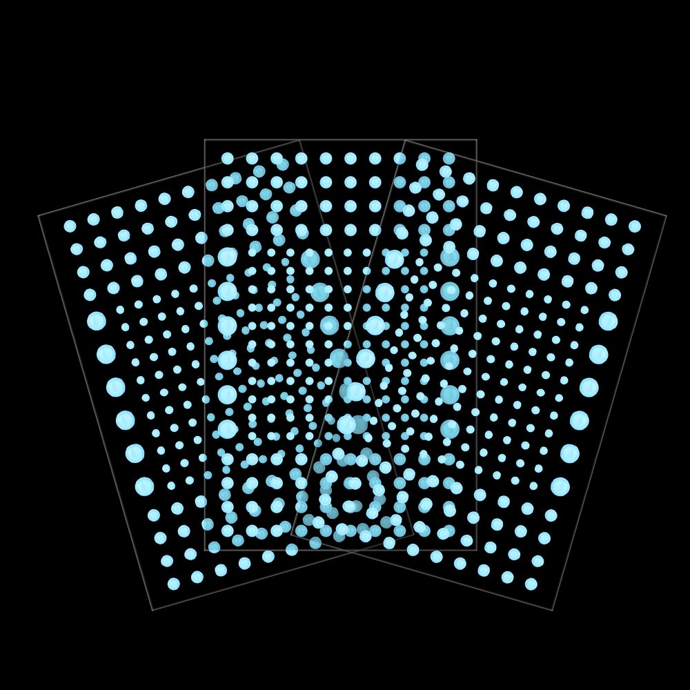 Sky Blue Perfect for Kids Bedding Room Gift Realistic 3D Domed Glow in The Dark Stars,606 Dots for Starry Sky 606 Stars
