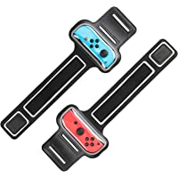 MoKo Wrist Bands Straps for Switch/Switch OLED Model (2021) for Just Dance 2021 2020 2019, Zumba Burn It Up, Cardio…