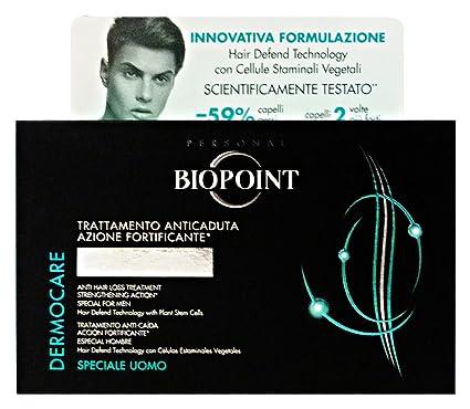 Biopoint Trattamento Anticaduta Uomo Confezione da 12 Fiale da 6 Millimetri 7799f39efa4c