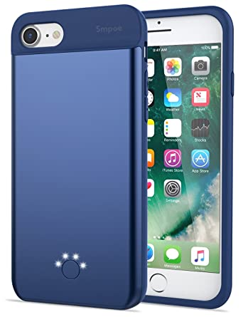 iphone 8 charging case blue