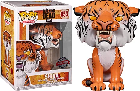 #653 AMC Walking Dead SHIVA 2018 SDCC//Supply Drop Exclusive Funko POP