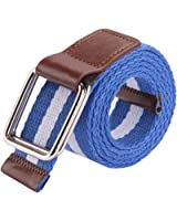Sitong Unisex fashion multicolor canvas woven belt(7 colors)