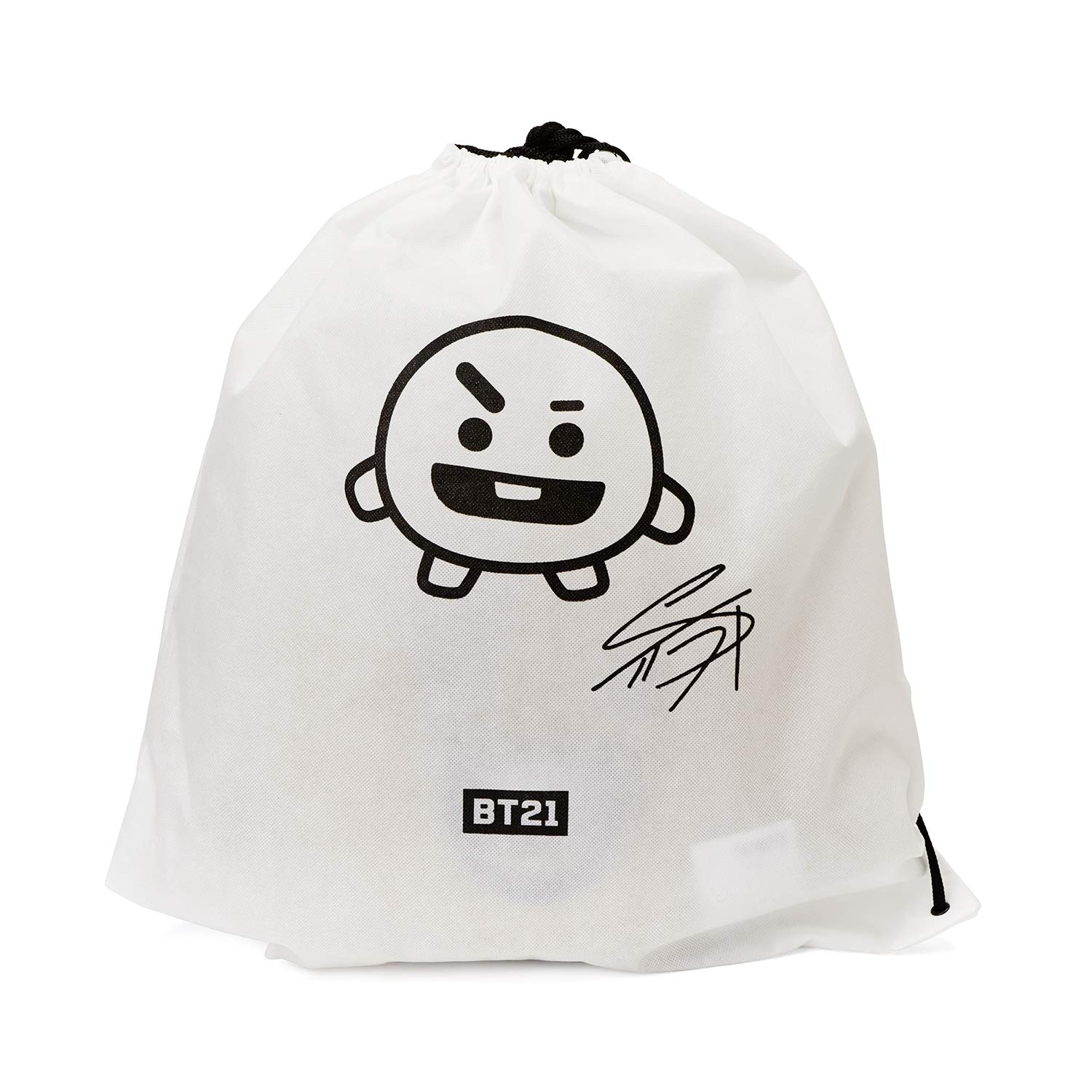 Cooky Smile Decorative Throw Pillows Cushion 16.5 Inch BT21 Official Merchandise by Line Friends
