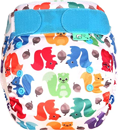 TotsBots Easyfit Star All-in-One Reusable Nappy Birth to Potty Knotty 8-35lbs