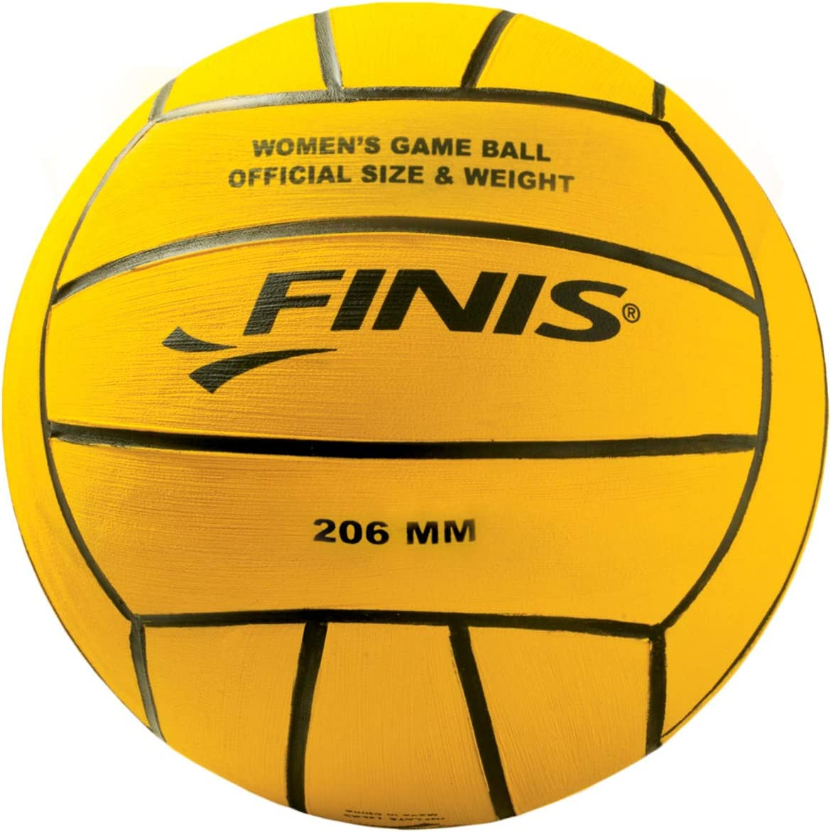 Finis - Pelota de Waterpolo Masculino, Color Amarillo: Amazon.es ...