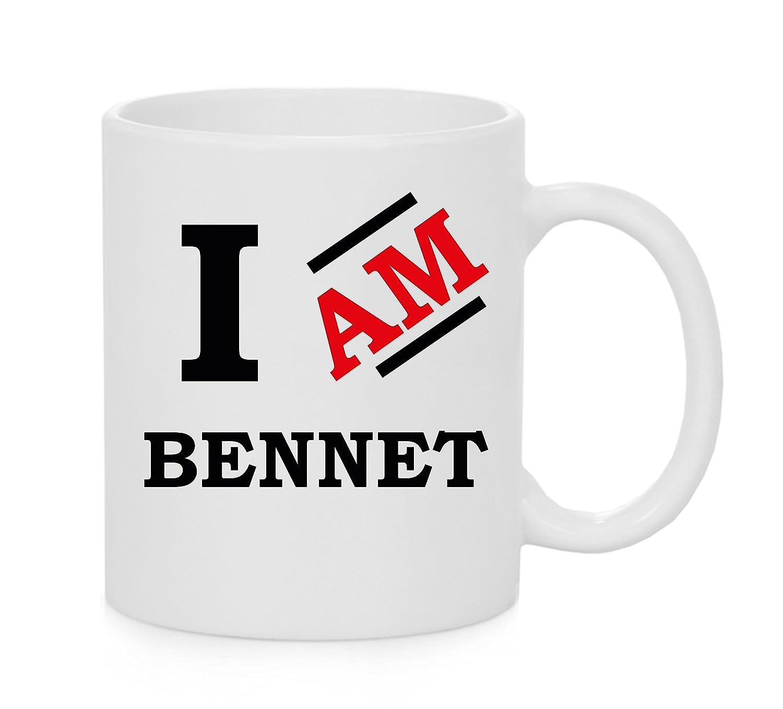 finest selection c1b06 b8163 Tazza ufficiale I Am Bennet: Amazon.it: Casa e cucina