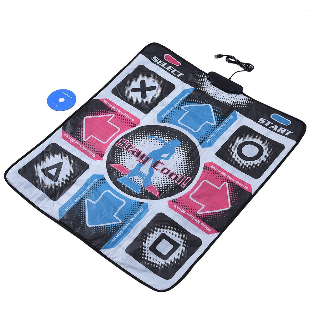 Yoidesu USB Dance Pad Non-Slip Wear-Resistant Durable Dance Mat for Bodybuilding and Fitness Dancing Blanket Dancing Step Pads to PC with USB by Yoidesu (Image #8)