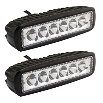 Led Light Bar Senlips 2x 18W Spot Light Led Lights Fog Light IP 67 Waterproof  sc 1 st  Amazon.com & Amazon.com: Led Light Bar Senlips 2x 18W Spot Light Led Lights ... azcodes.com