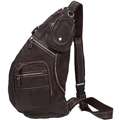 1f13edcf8580 monolife ボディバッグ 本革 レザー ショルダーバッグ 斜めがけ メンズ レディース バッグ 全3色