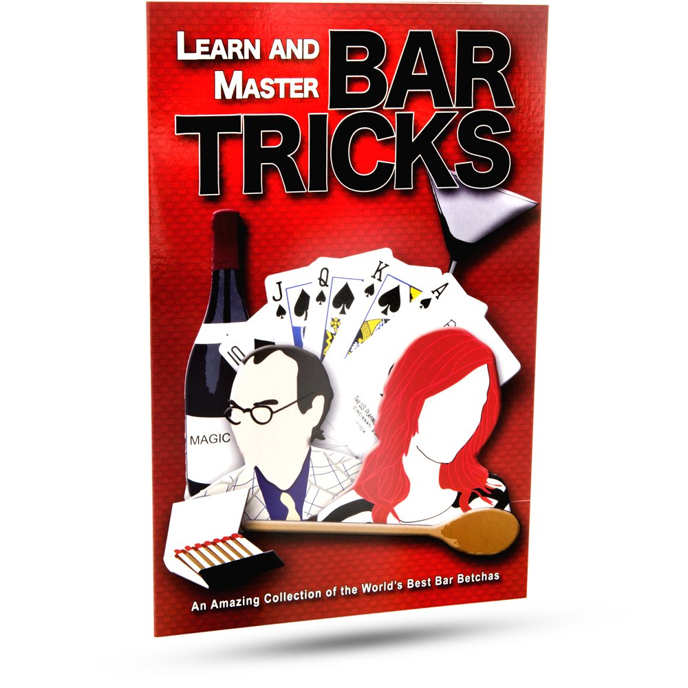 Magic Makers Bar Magic Tricks and Bets, Betchas You Can't Lose Instructional Magic DVD with Magician Simon Lovell