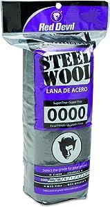 Red Devil 0310 Steel Wool, 0000 Super Fine (Pack of 16)