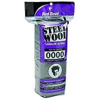 Red Devil 0310 16 Pack Steel Wool, 0000 Super Fine