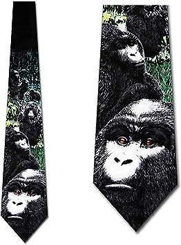 Corbata Gorilas Corbata Hombre: Amazon.es: Salud y cuidado personal