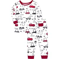 Lamaze Organic Baby Organic Baby/Toddler Girl, Boy, Unisex Tight Fit Pajamas Set