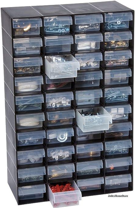 Britten James 40 Multi Drawer Parts Storage Cabinet Unit Organiser