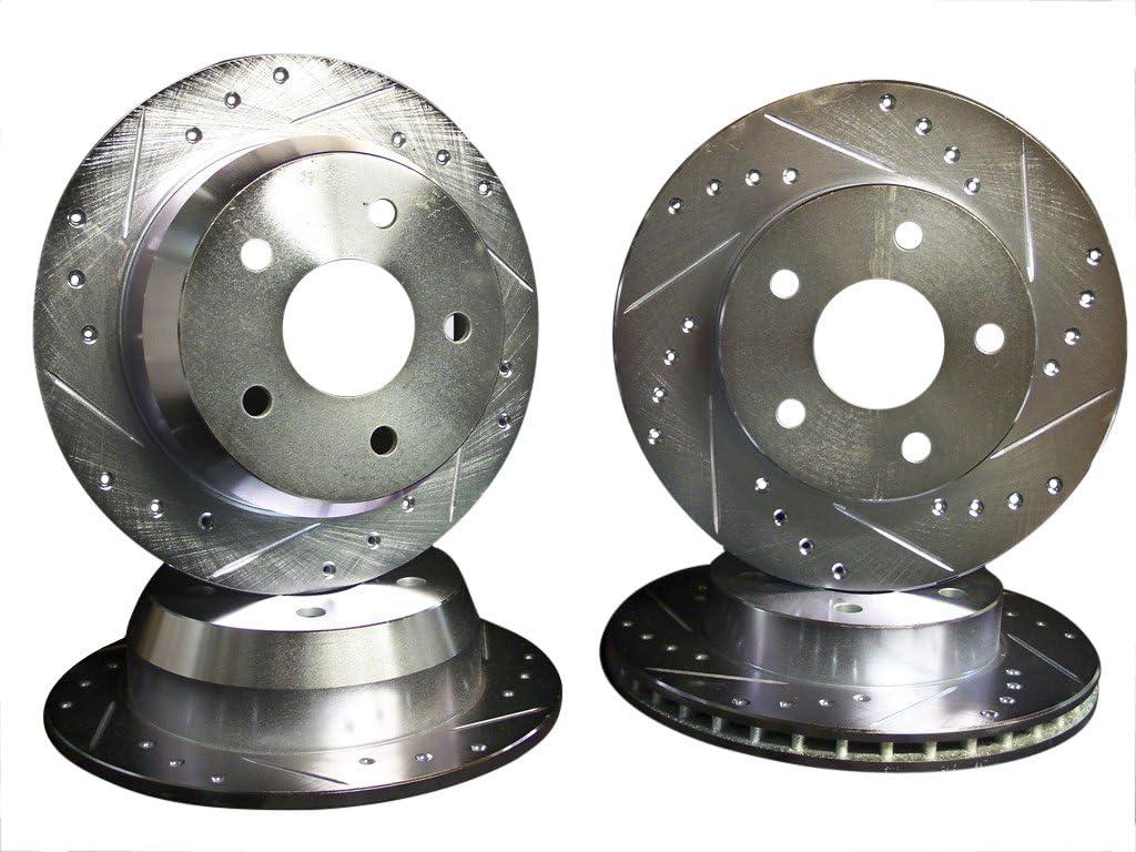Front Brake Disc Rotors For 2005 2006 2007 2008 2009 2010 GRAND CHEROKEE