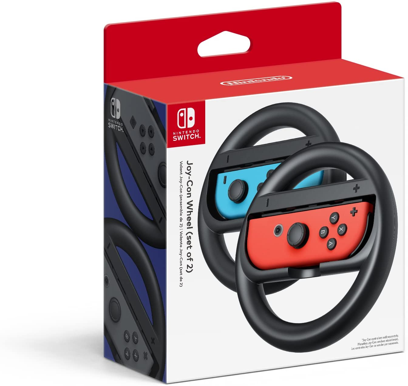 Amazon com: Nintendo Joy-Con Wheel (Set of 2) - Nintendo Switch