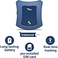Trakbond GPS Tracker for Kids| Smallest Size| Accurate Live Tracking| Pre-Installed SIM Card| No Setup Required (Kids, Midnight Blue)…