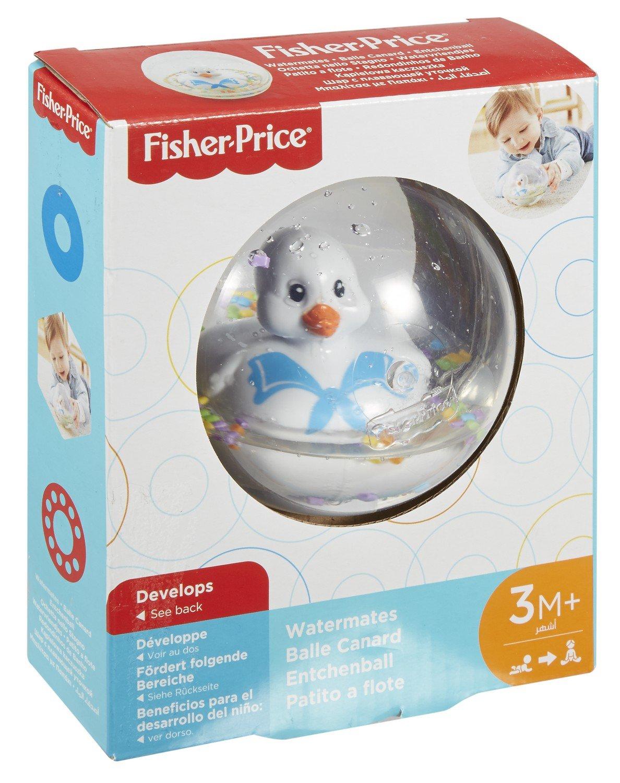 Fisher-Price Patito a flote blanco, juguete de baño para bebé (Mattel DRD81): Amazon.es: Juguetes y juegos