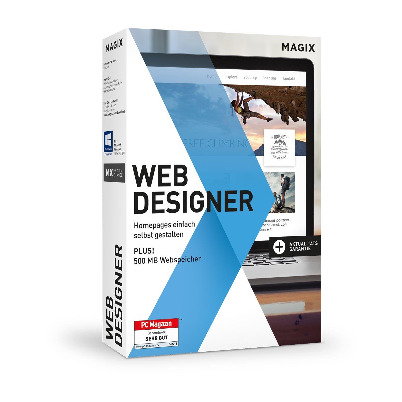 Magix Web Designer   Version 15   Websites einfach selbst erstellen ...