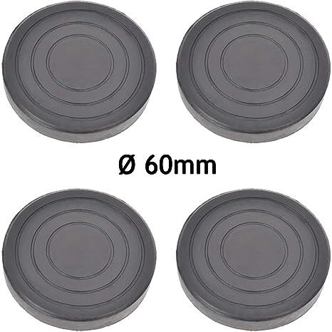 Spares2go - Pies de goma antivibración para lavadora y secadora (4 ...
