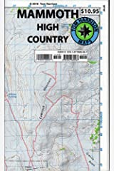 Mammoth high country trail map: Waterproof, tearproof (Tom Harrison Maps) Map