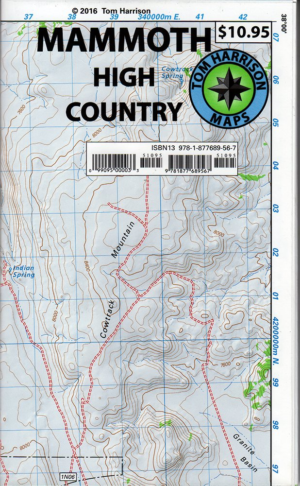 Mammoth high country trail map: Waterproof, tearproof (Tom ... on oarfish map, bakersfield street map, tonalea map, land of make believe map, tolleson map, sierra vista map, ak-chin map, tower falls map, hannagan meadow map, dragoon map, heber overgaard map, deep creek hot springs california map, mono lake map, the hole map, la jolla shores map, cave creek regional park map, oracle map, many farms map, national forest campground map, golden gate canyon state park map,