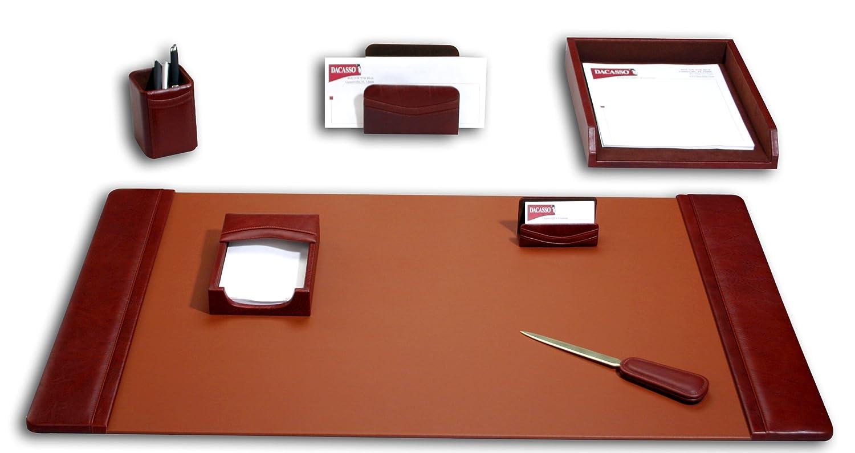 Mocha 7/pi/èces Dacasso Desk Set