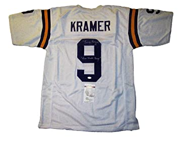 Cheap Tommy Kramer Autographed Signed Minnesota Vikings Football Jersey