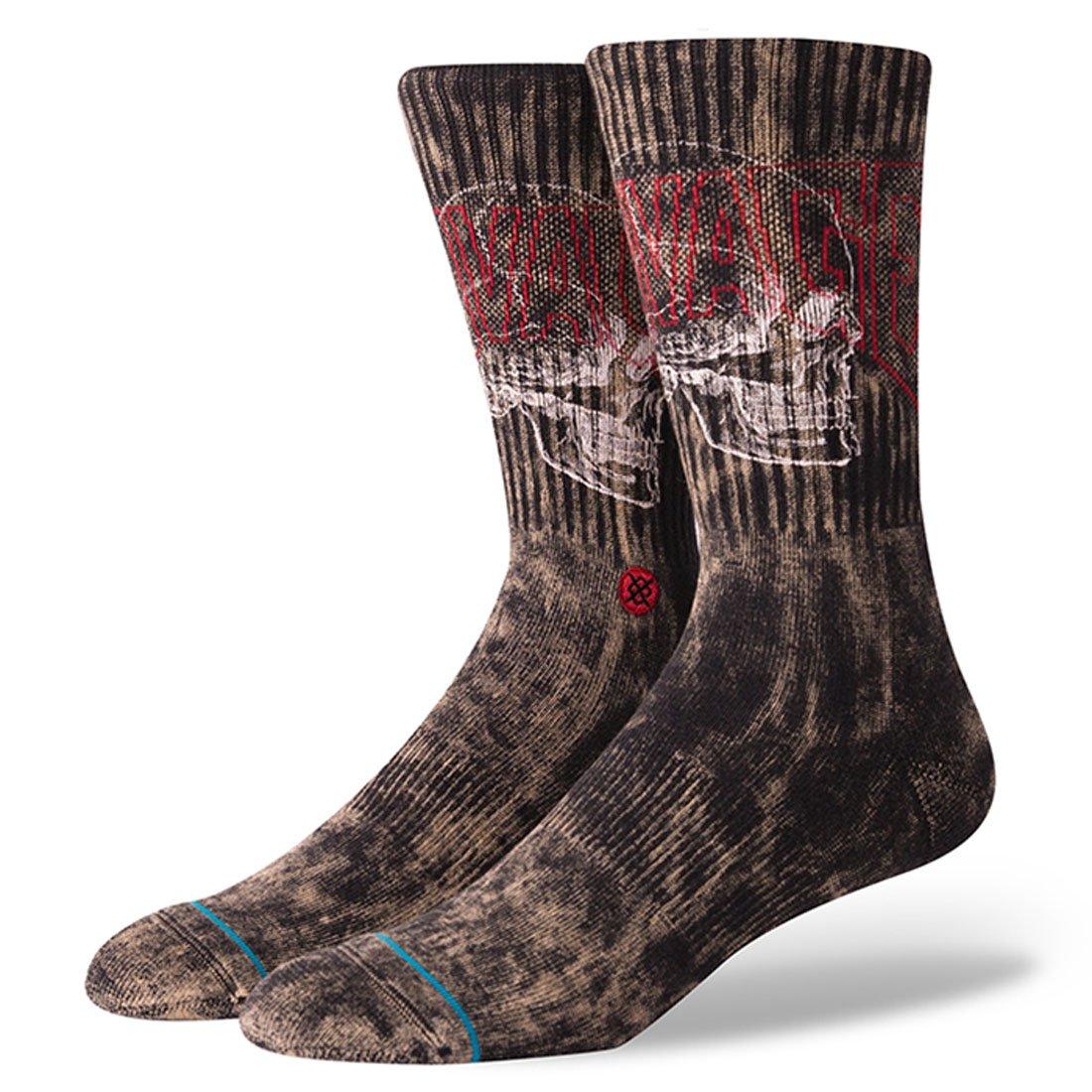 Stance Savage Skull Socks Black Medium