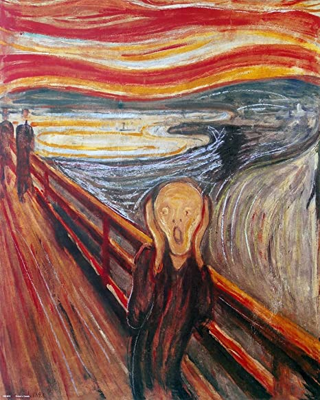 Image result for the scream painting