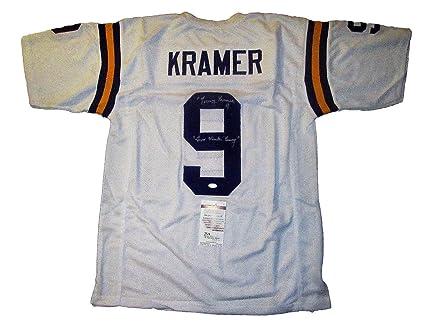 Tommy Kramer Autographed Signed Minnesota Vikings Football Jersey  11  Memorabilia - JSA Authentic ad0ac8f99