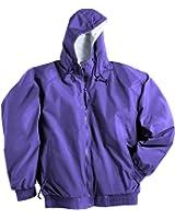 Men Wind/Water Resistant Bay Watch Hooded Zipper Shell Jacket (12 Colors,S-6XLT)
