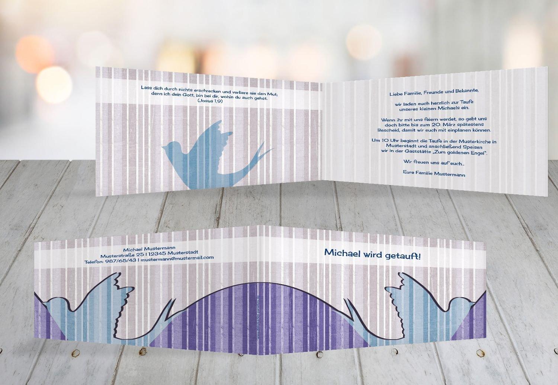 Kartenparadies Einladungskarte Taufeinladung Taufkarte Streifenharmonie, Streifenharmonie, Streifenharmonie, hochwertige Einladung zur Taufe inklusive Umschläge   100 Karten - (Format  215x105 mm) Farbe  OckerBeige B01N28A3GV | Outlet Online Store  | Um Eine Hohe Bewunderung Gewinnen  1106b6