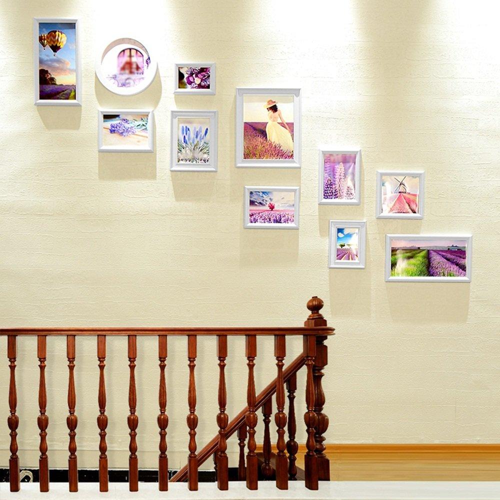 European corridor staircase photo wall photo frame wall / living room bedroom wall combination photo wall 11 box 168 95cm ( Color : B )