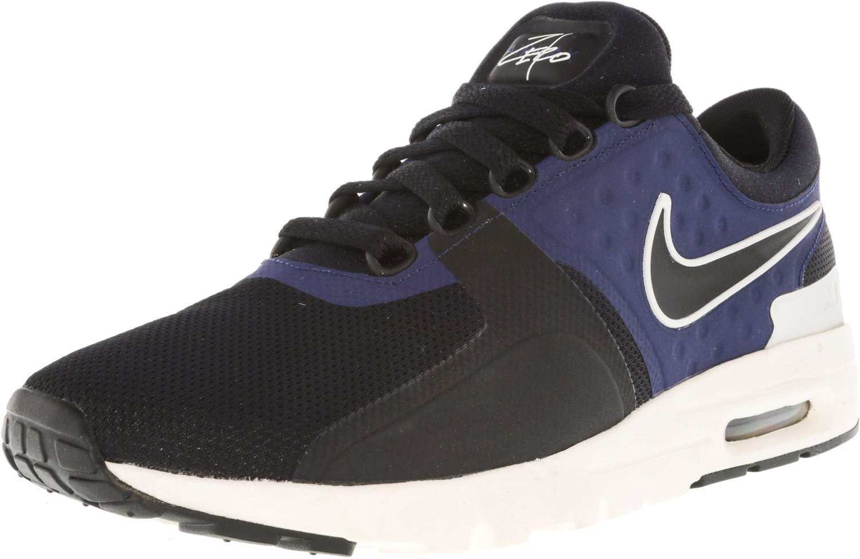 NIKE Women's Shoe Air Max Zero Running Shoe Women's B0093JZ4MI 8.5 B(M)|Black/Black-Ivory/Binary-Blue c4d99c
