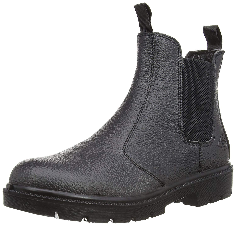 Dickies FA23345 SBL 7 Boots haute s/écurit/éDealer S1-P Taille 41 noir,