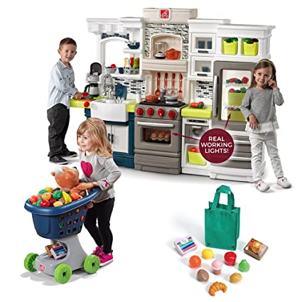 c6c21293ceff Image Unavailable. Image not available for. Color: Step2 Shop and Cook Kids Kitchen  Play Set