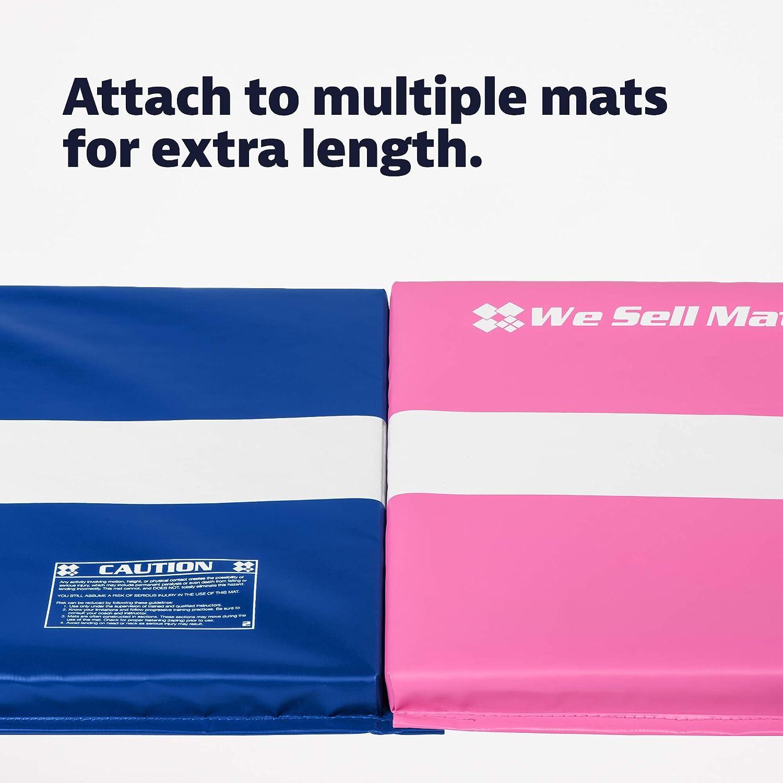 We Sell Mats Folding Cartwheel Mat Kids Tumbling and Exercise Mat for Gymnastics and Cheerleading