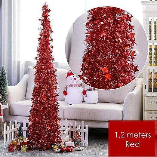 HELEVIA Árbol de Navidad, árbol de Navidad Brillante para ...