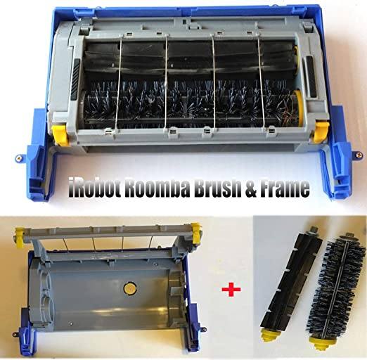 Cepillo principal + caja de marco para iRobot Roomba 500 600 700 ...
