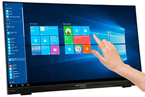 "Hanns.G HT225HPB 21.5"" LED Multi-Touch Screen Monitor - Black"