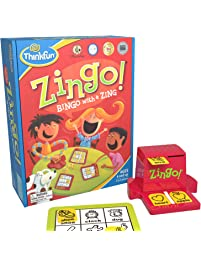 ThinkFun Zingo Bingo Award Winning Game for Pre-Readers and Early Readers Age 4 and Up - One of the Most Popular Board...