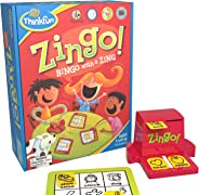 ThinkFun Zingo Bingo Award Winning Preschool Game for Pre-Readers and Early Readers Age 4 and Up - One of the Most Popular B